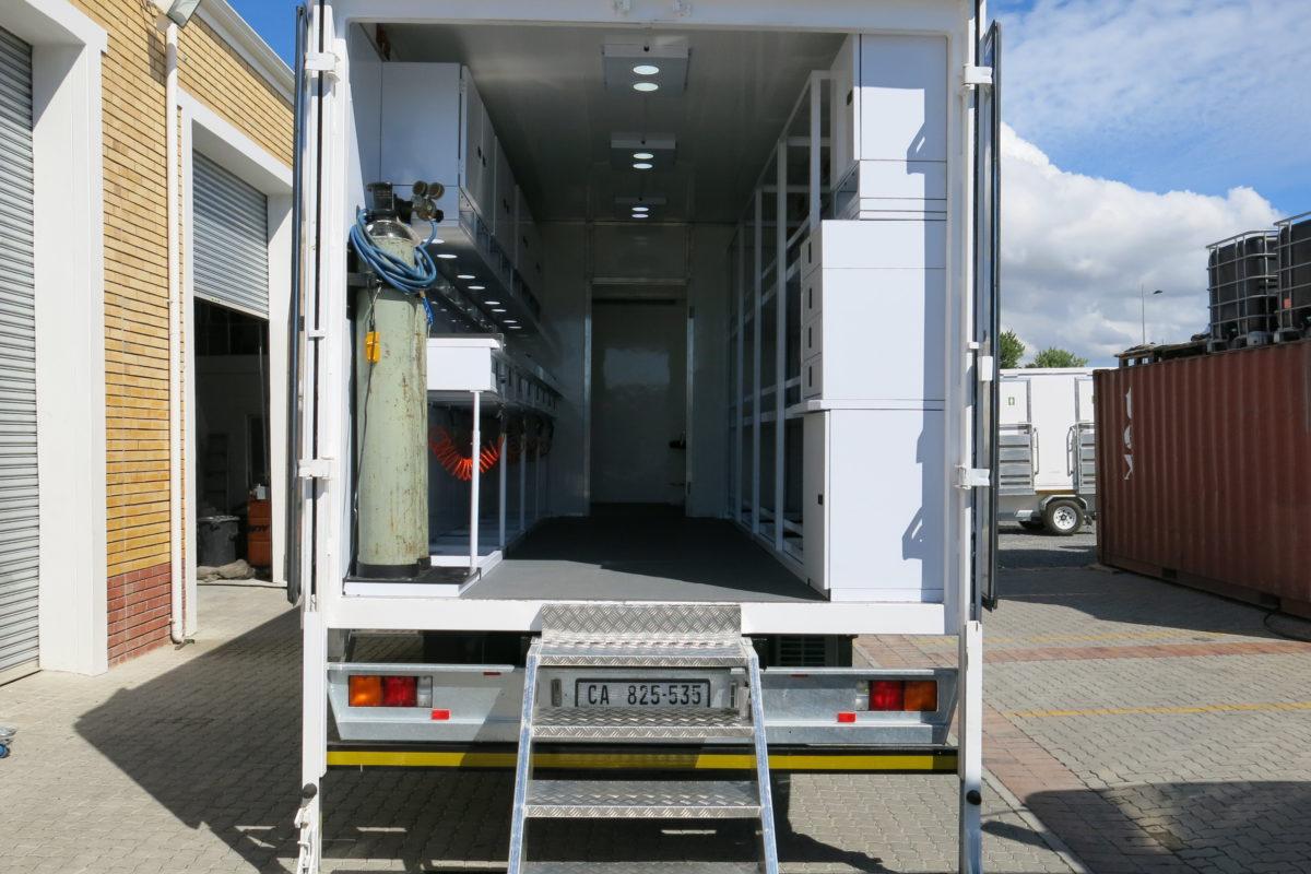 Camera Truck Rear Entrance